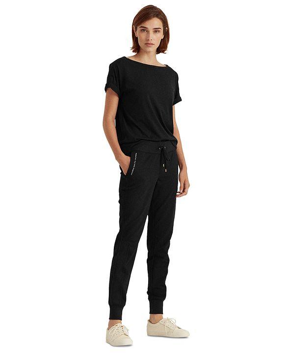 Lauren Ralph Lauren Skinny-Fit Jogger Pants