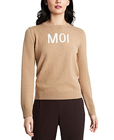 Moi Intarsia Sweater, Created For Macy's