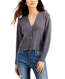 INC Button-Front Cardigan Sweater, Created for Macy's