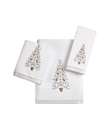 Holiday Tree Bath Towel Collection, Created for Macy's