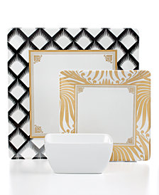 Q Squared Essex Melamine Dinnerware Collection