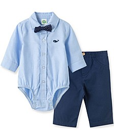 Little  Me Baby Boy  Whale Pant Set