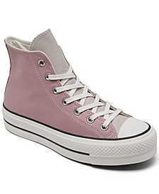 Women's Chuck Taylor All Star Lift Platform High Top Casual Sneakers from Finish Line