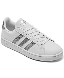 Women's Originals Grand Court Snake Casual Sneakers from Finish Line