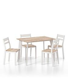 Parishton 5-Piece Dining Table Set