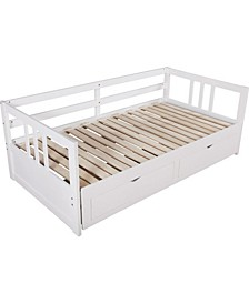 Farlie 2-Drawer Twin to Full Size Daybed