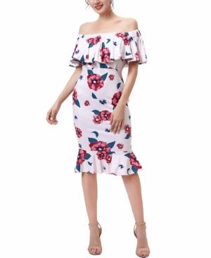 kimi + kai Kyla Maternity or Nursing Mermaid Dress
