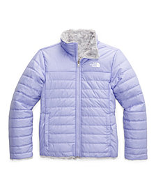 The North Face Big and Little Girl Reversible Mossbud Swirl Jacket