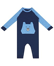 Earth Organic Baby Boy 1-Piece Nate Coverall