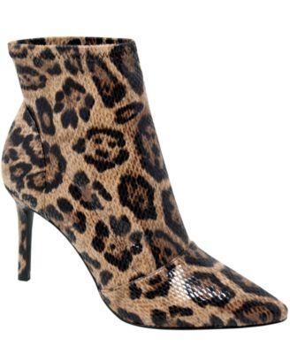 Leopard Print Booties - Macy's
