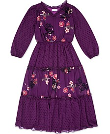Big Girls Floral Dress