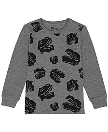 Little Boys Long Sleeve Graphic Thermal