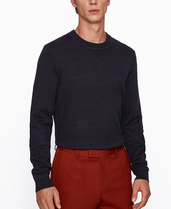 Hugo Boss BOSS Men's Mateo Regular-Fit Sweater