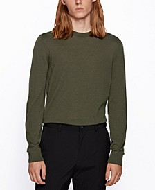 BOSS Men's Micolai Wool-Blend Sweater