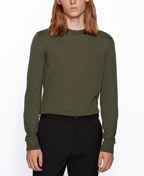 Hugo Boss BOSS Men's Micolai Wool-Blend Sweater