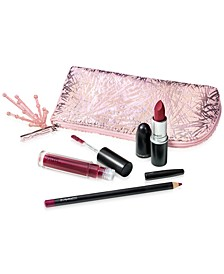 4-Pc. Frosted Firework Firewerk It Lip Set