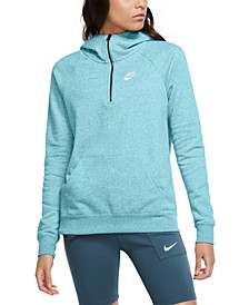 Women's Zip-Front French Terry Hoodie
