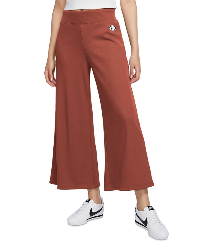 Nike - Cropped Wide-Leg Pants