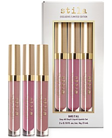 3-Pc. Bare It All Liquid Lipstick Set