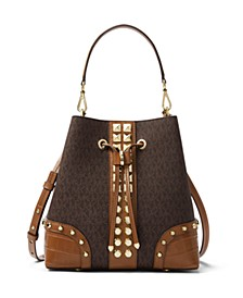 Mercer Gallery Signature Convertible Bucket Bag