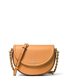 Jet Set Charm Half Dome Leather Crossbody