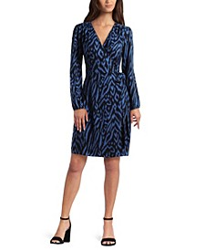 Women's Short Wrap Dress
