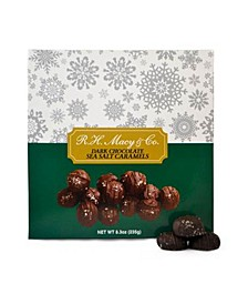 Dark Chocolate Sea Salt Caramels Box
