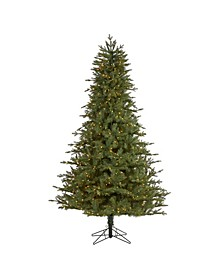 New Hampshire Spruce Artificial Christmas Tree with 650 Warm Lights and 1462 Bendable Branches