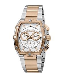 by Franck Muller Men's Swiss Quartz Two-Tone Stainless Steel Bracelet Watch 40mm