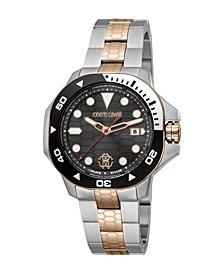 by Franck Muller Men's Swiss Quartz Two-Tone Stainless Steel Bracelet Watch 44mm
