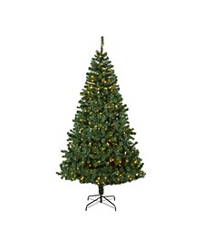 Northern Tip Pine Artificial Christmas Tree with 400 Clear LED Lights