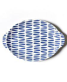 Drop Large Handled Oval Platter