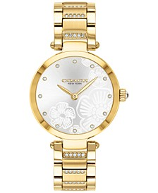 Women's Park Gold-Tone Bracelet Watch 30mm