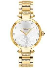 Women's Park Gold-Tone Bracelet Watch 30mm