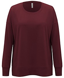 Plus Size Solid Sweatshirt, Created for Macy's