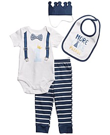 Kyle and Deena Baby Boy 1st Birthday 4pc Gift Set