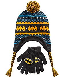 Boys 2-Pc. Batman Hat & Gloves Set