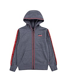 Big Boys Fleece Full-Zip Hoodie