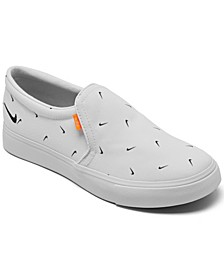 Women's Court Royale AC Slip-On Casual Sneakers from Finish Line