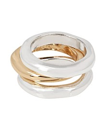 Sculptural Ring Set Size 7.5