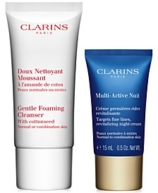Receive a FREE 2pc Gift with any $65 Clarins Purchase (A $23 Value!)