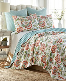 Melrose Quilt Set, Full/Queen