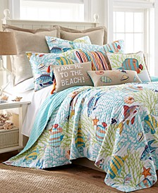 Beach Walk Quilt Set, Full/Queen