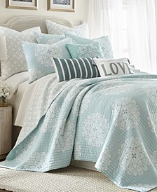 Lara Spa Quilt Set, King