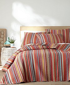 Uluru Stripe Quilt Set, King