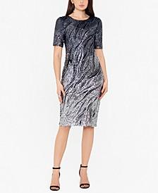 Ombré Sparkle Bodycon Dress