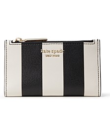 Spencer Stripe Small Slim Bifold Wallet