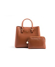 Gunas Jane Vegan Leather Satchel