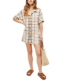 Felicity Plaid Romper