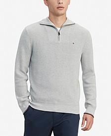 Men's Peterson Classic-Fit Quarter Zip Sweater